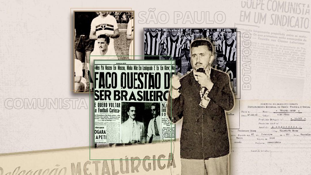 A saga esquecida de Eugenio Chemp, o artilheiro russo marcado pela ditadura no Brasil