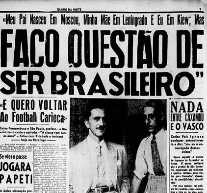 Identificação com Brasil - Reprodução/Diário da Noite