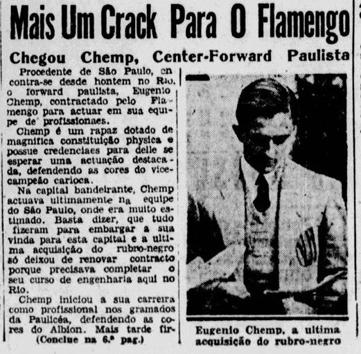 Chemp no Flamengo? - Reprodução/Jornal dos Sports