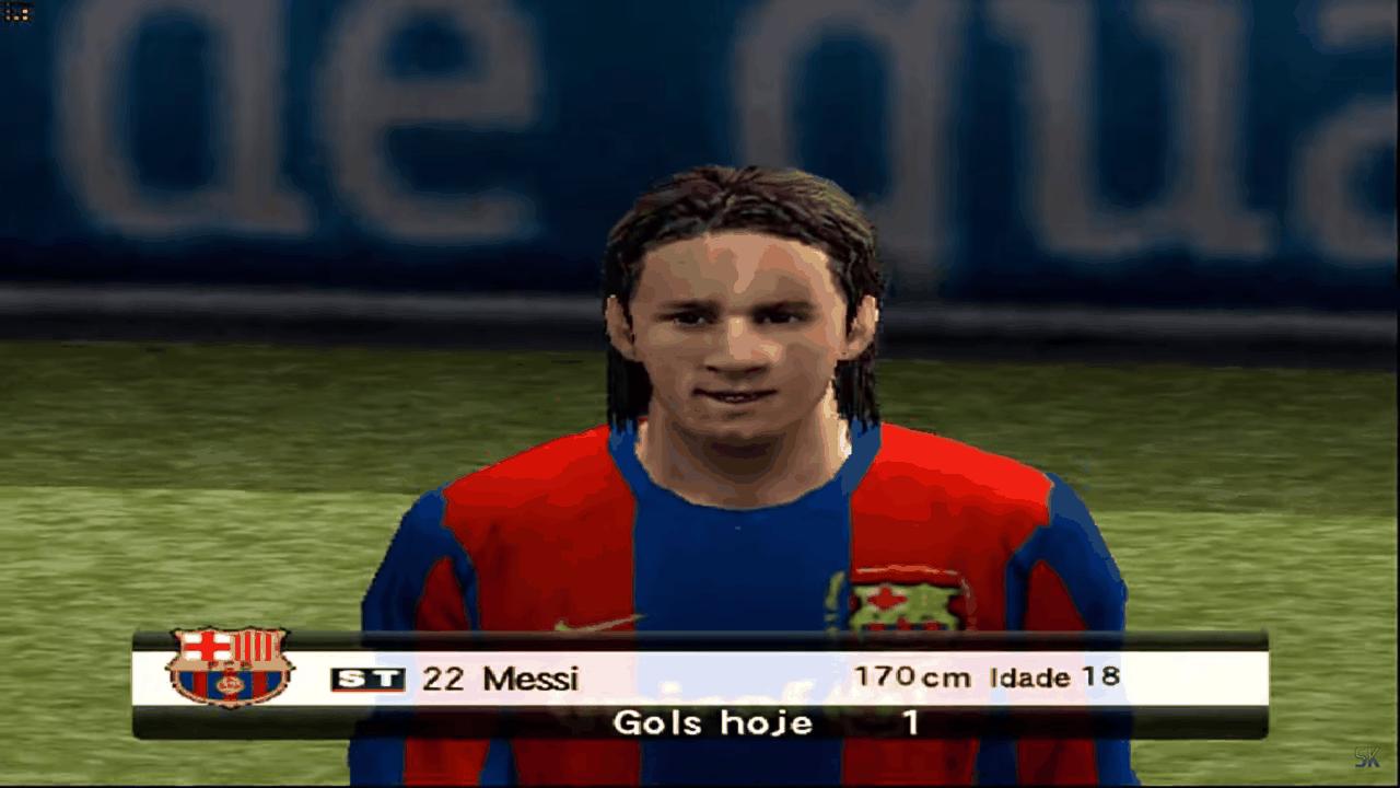 Messi ainda novinho no Bomba Patch - Reprodução