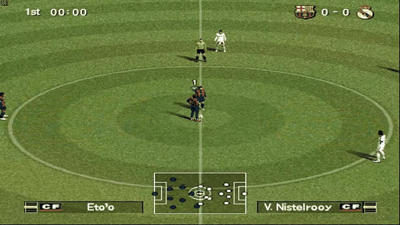 Barcelona e Real se enfrentam no Bomba Patch
