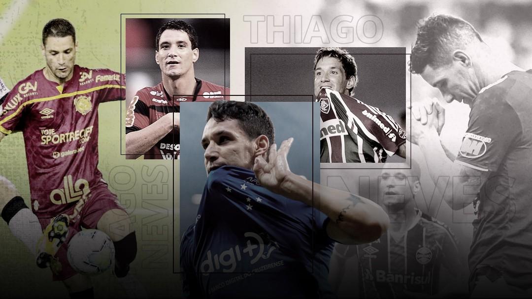A história de Thiago Neves no futebol - Arte / Infoesporte