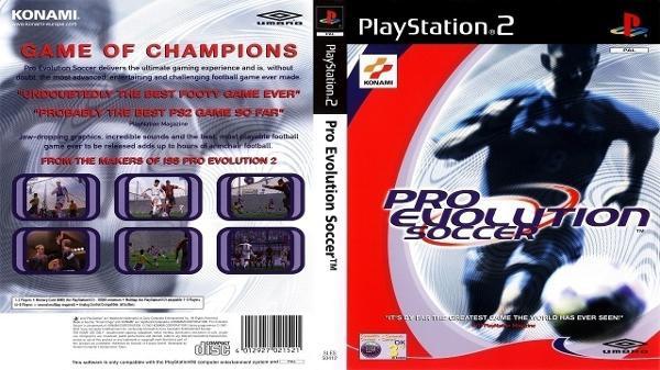 Pro Evolution Soccer foi lançado em 2001 - Konami