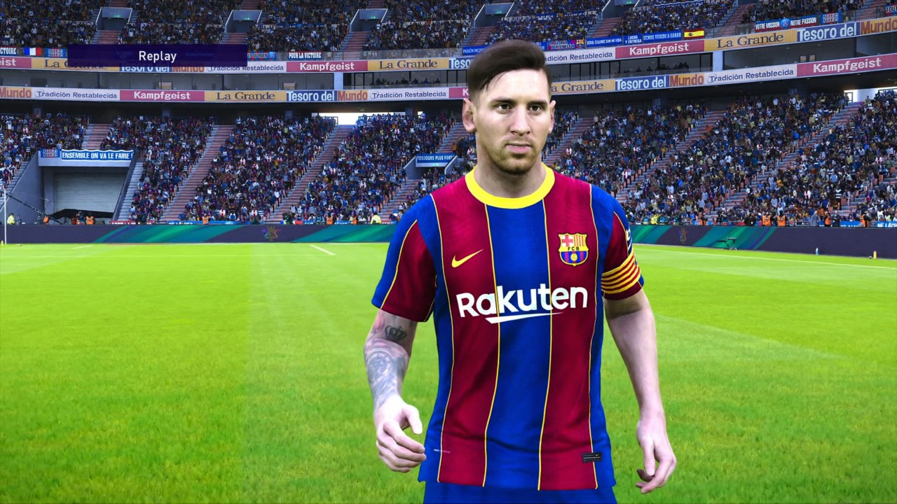 Messi no eFootball PES 21 - Konami