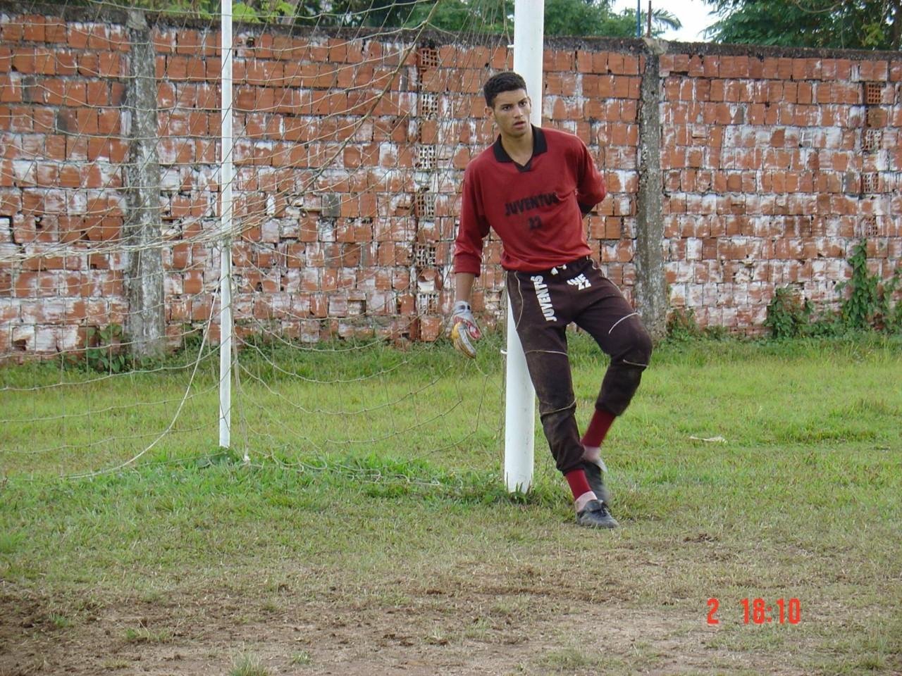 Weverton no Juventus, do Acre: do ataque para o gol - Manoel Façanha/Arquivo Pessoal