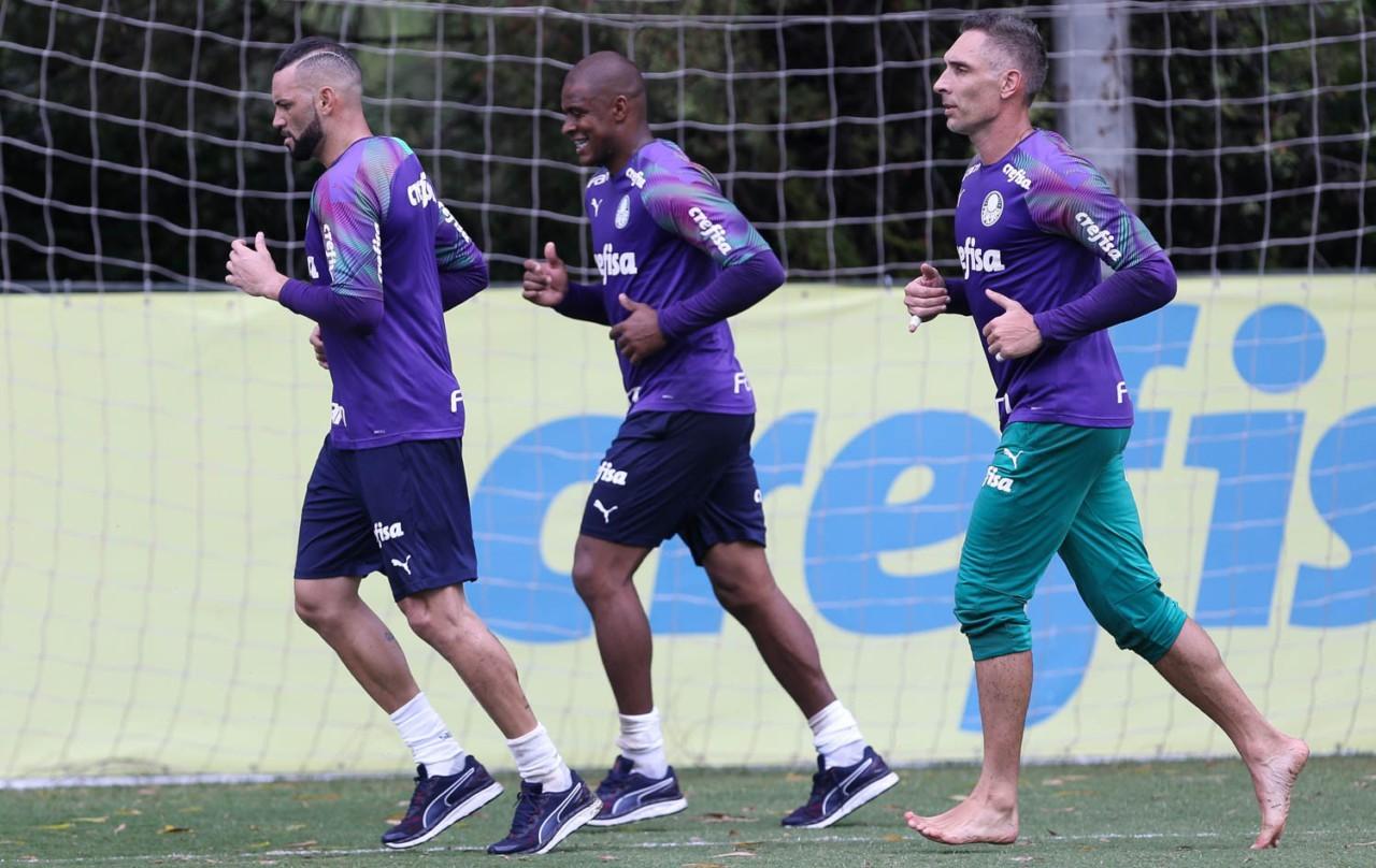Weverton, Jaílson e Fernando Prass disputaram posição no Palmeiras - mas sem perder a amizade - César Greco/Ag. Palmeiras