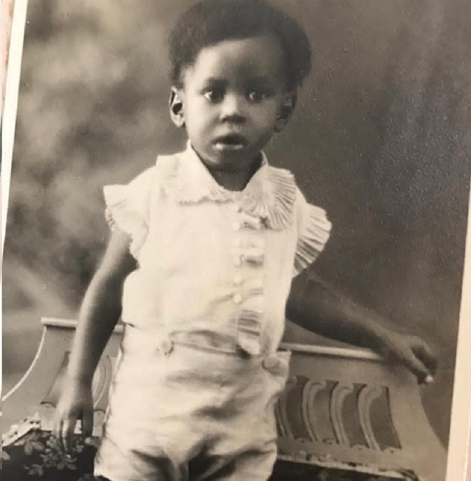O pequeno Adhemar Ferreira da Silva - Arquivo pessoal