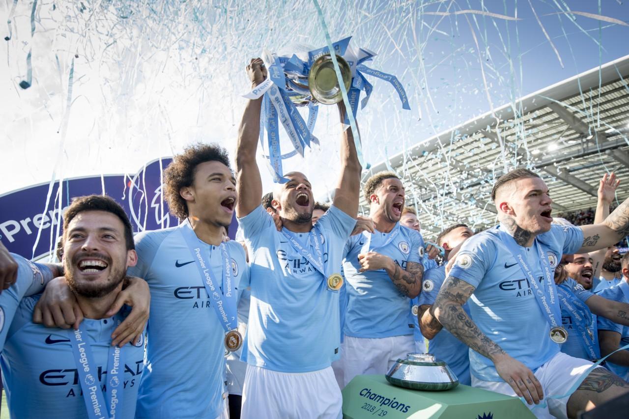 Manchester City foi campeão da Premier League pela última vez em 2018/19 - Getty Images