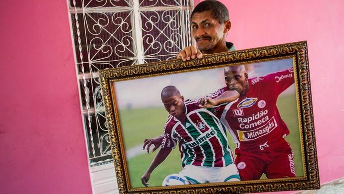 José Carlos com imagem de Marinho pelo Fluminense - Jonathan Lins