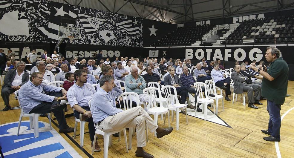 Montenegro é um entusiasta da transformação do Botafogo em empresa - Vitor Silva/Botafogo