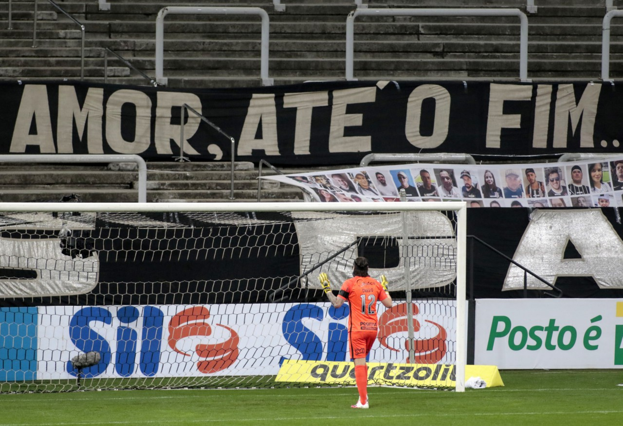 Cássio, em jogo na Neo Química Arena - Rodrigo Coca/Ag. Corinthians