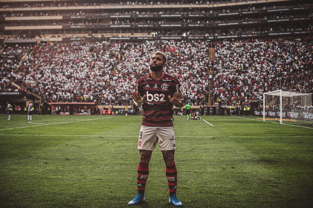 Gabigol, 100 vezes Flamengo