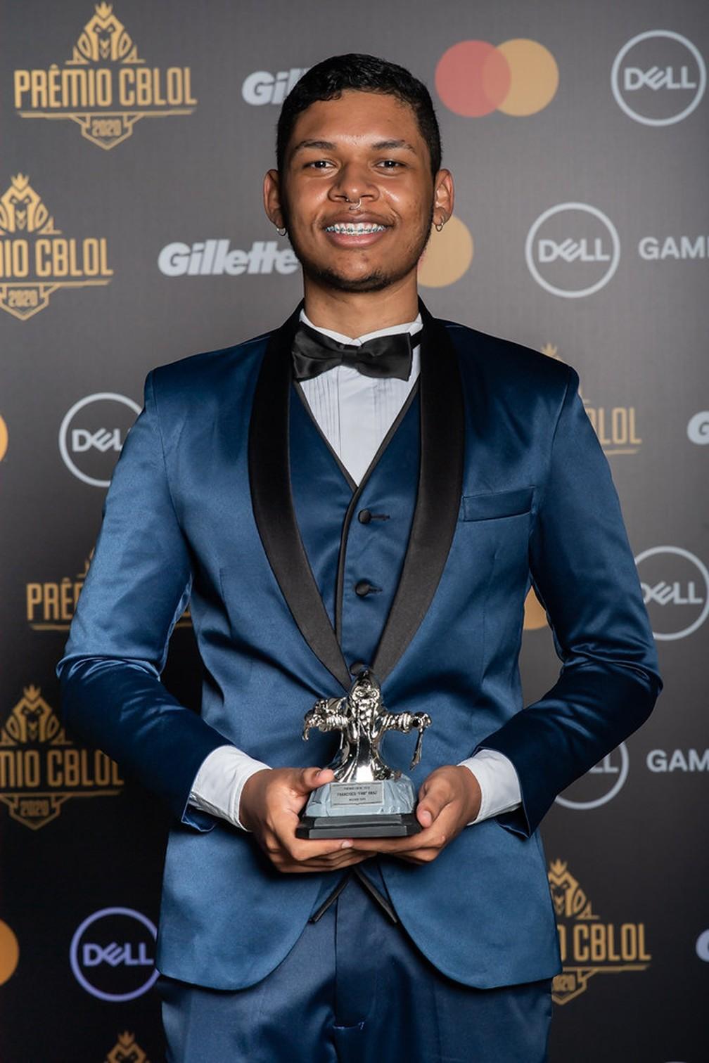 fNb foi eleito o melhor topo do CBLOL 2020 - Bruno Alvares/Riot Games