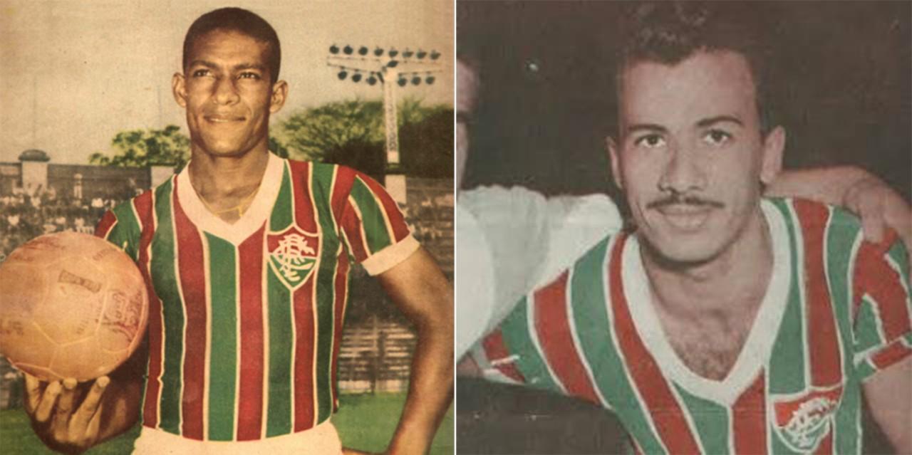 Waldo e Orlando Pingo de Ouro, maiores artilheiros do Fluminense - Divulgação