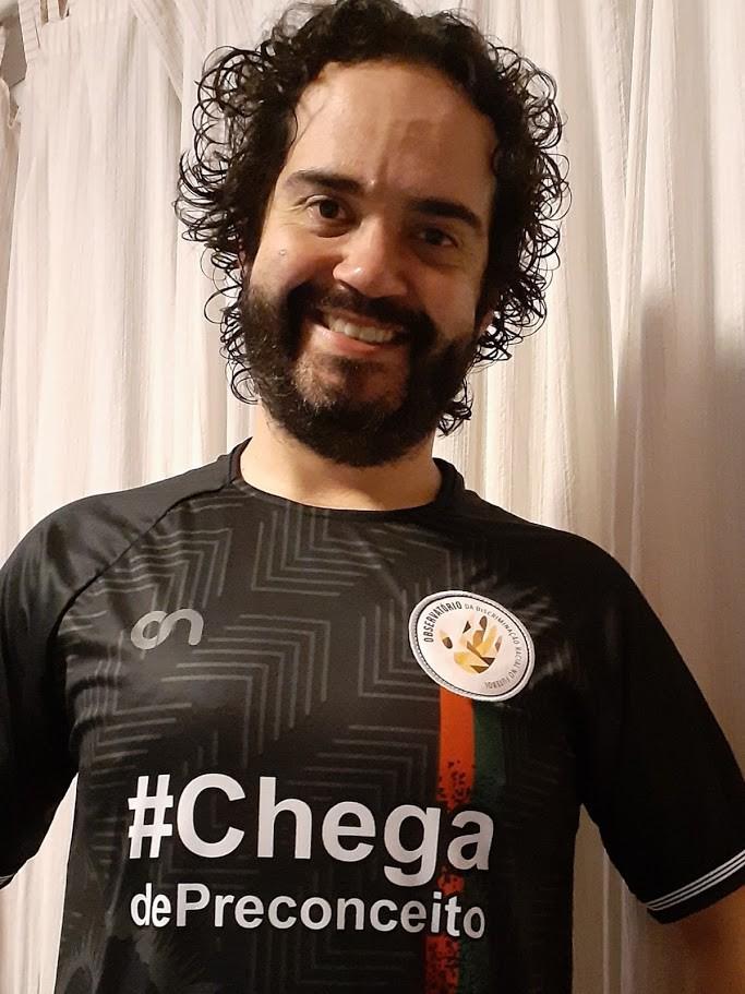 Gustavo Andrada Bandeira, doutor em Educação e autor de estudos sobre masculinidade no futebol - Arquivo pessoal
