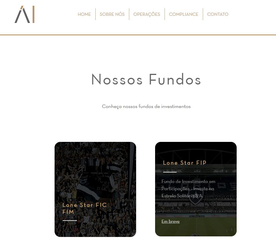 Fundo de investimentos são anunciados no site da Áureo Investimentos - Reprodução