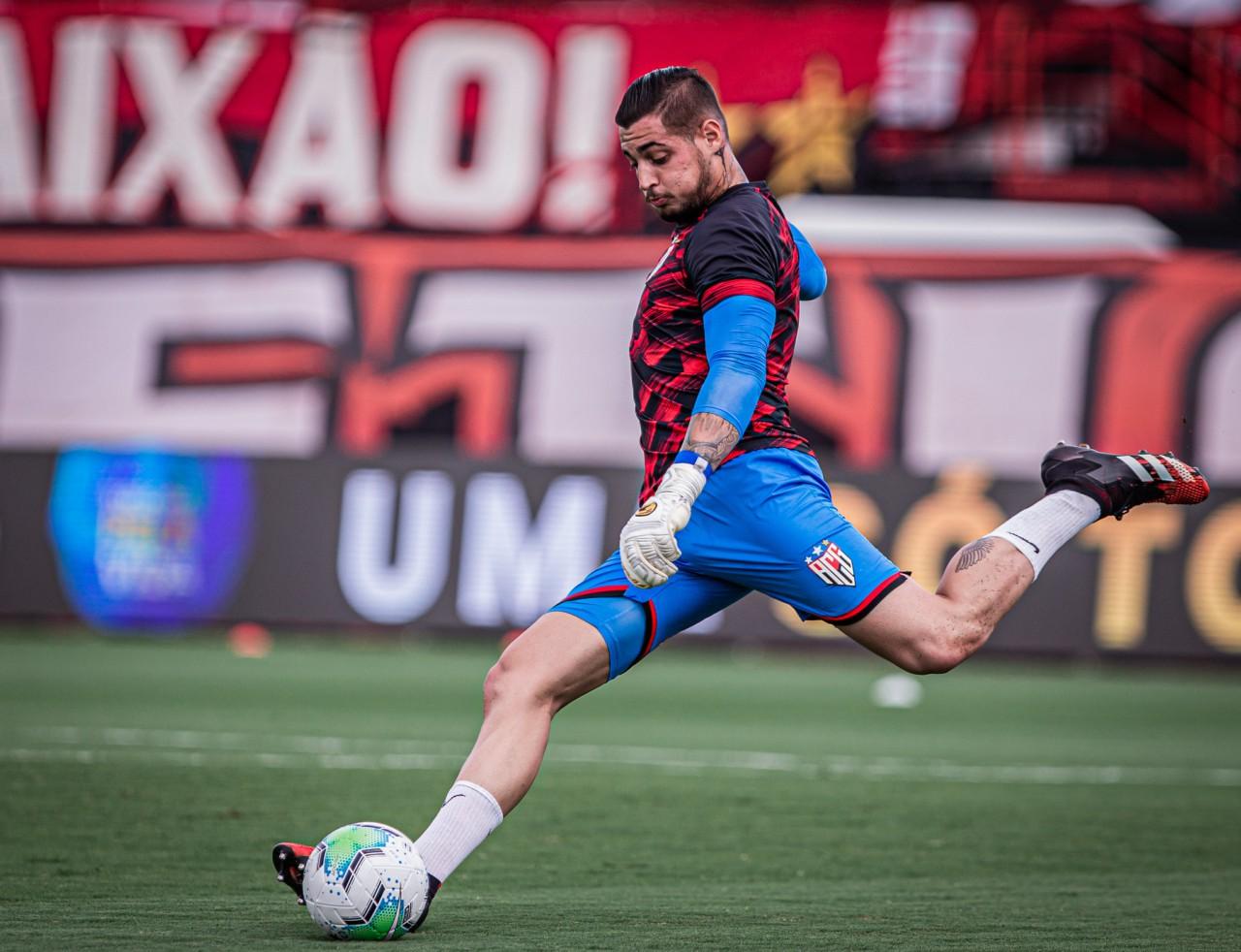 Jean defendeu o Atlético-GO na temporada 2020 - Heber Gomes/ACG