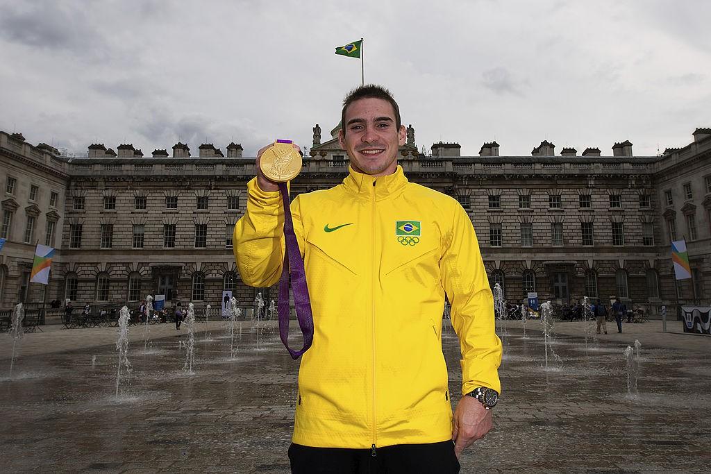 Arthur Zanetti disputou as Olimpíadas pela primeira vez em Londres e conquistou o ouro - Buda Mendes / LatinContent via Getty Images