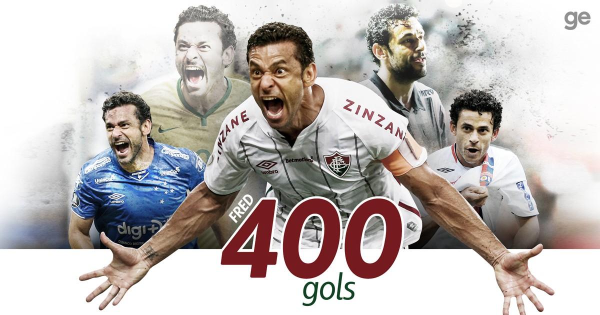 Arte Fred 400 gols