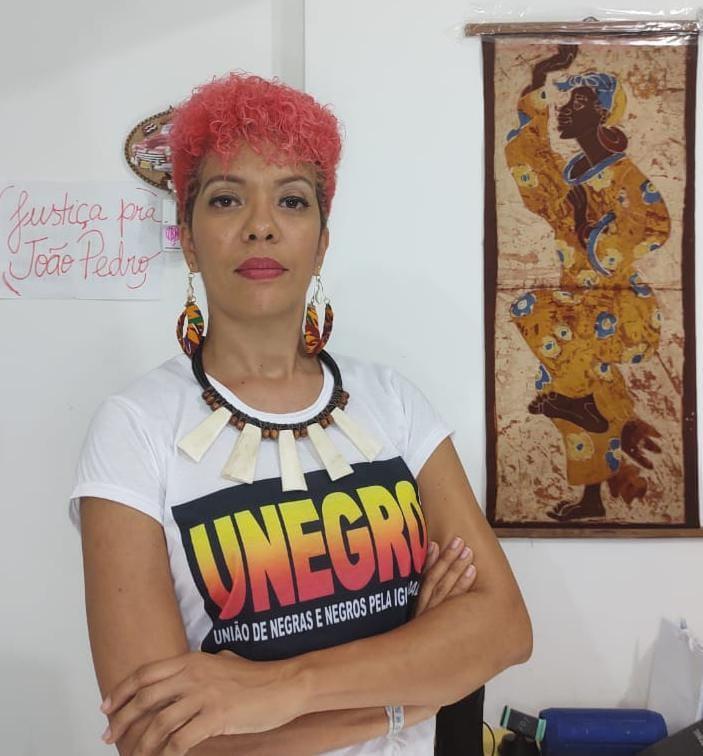Ângela Guimarães é presidente da UNEGRO - Arquivo pessoal