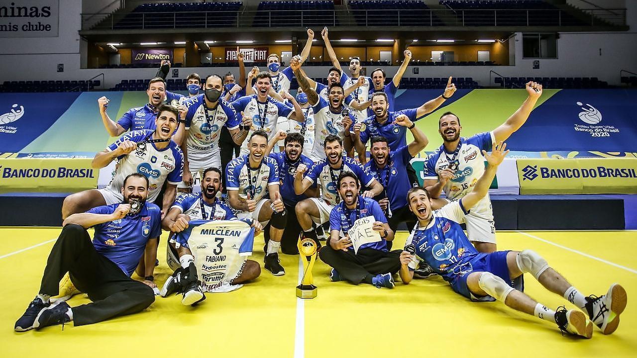 Taubaté conquistou o título do Troféu Super Vôlei - CBV