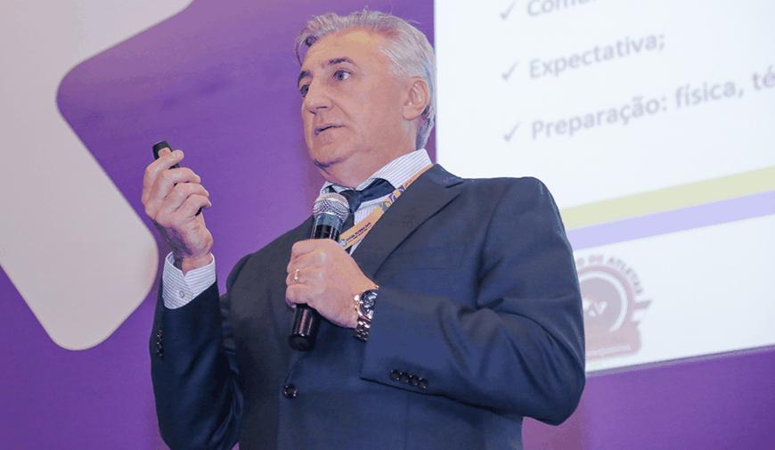 Rinaldo Martorelli, presidente do Sindicato de Atletas de SP