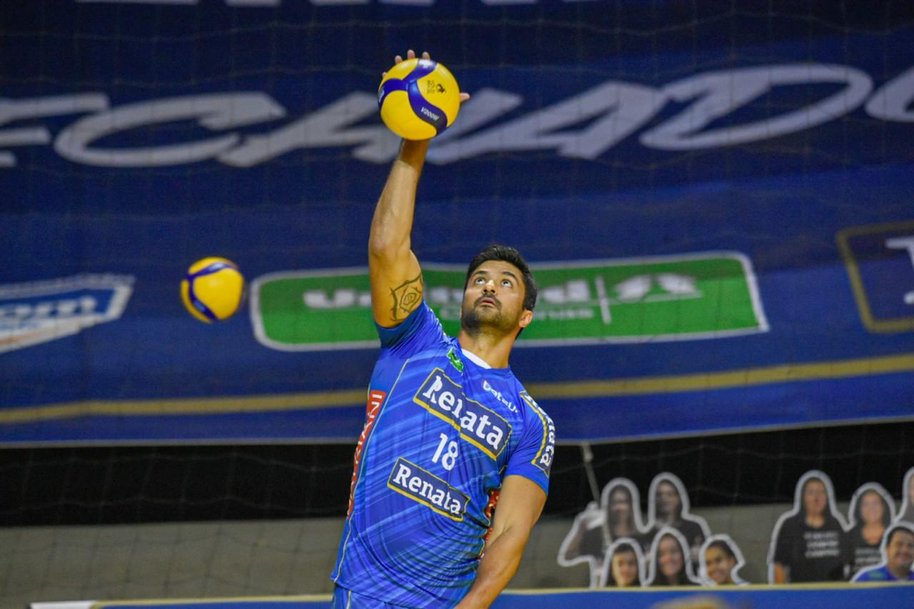 Leandro Vissotto é o jogador mais experiente no elenco do Campinas - CBV
