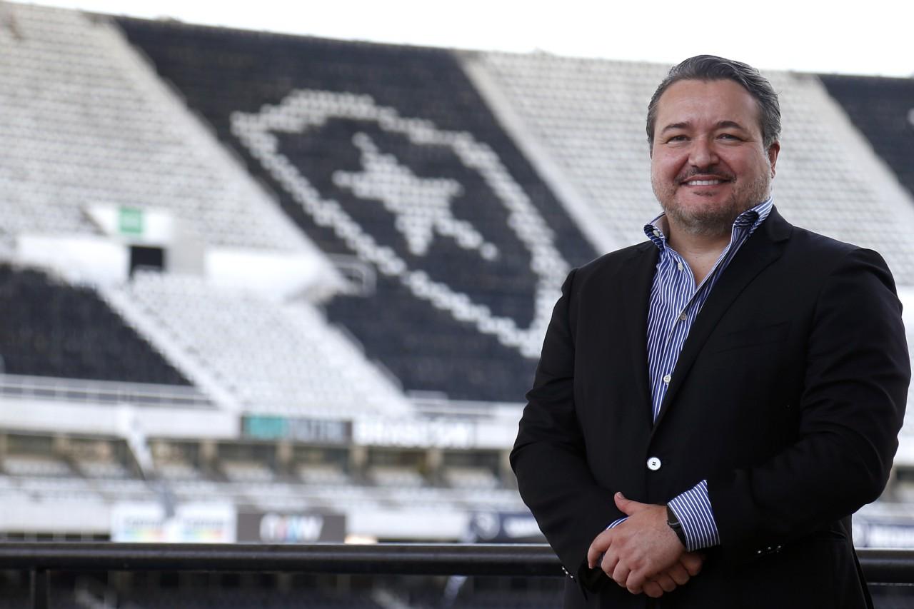 Jorge Braga assumiu o cargo de CEO do Botafogo no fim de março - Vitor Silva/Botafogo
