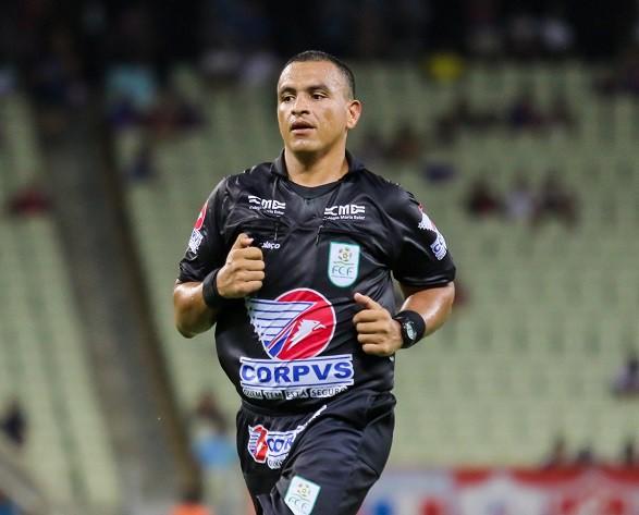 Ex-árbitro Janderson Bandeira, do Ceará - Pedro Chaves