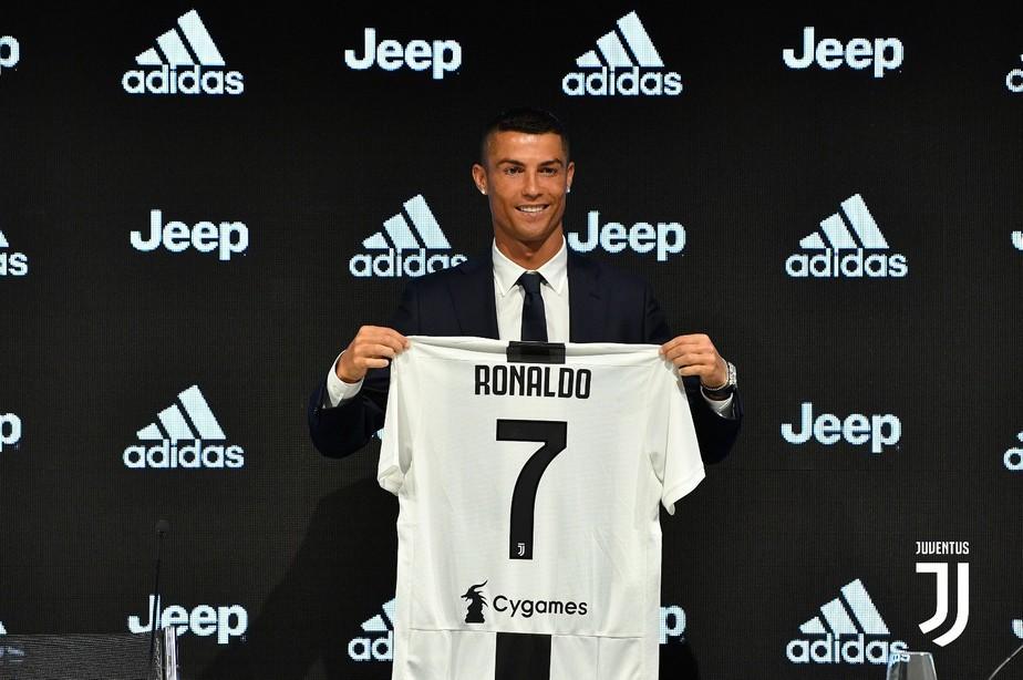 Cristiano Ronaldo foi contratado pela Juventus em 2018 - Divulgação