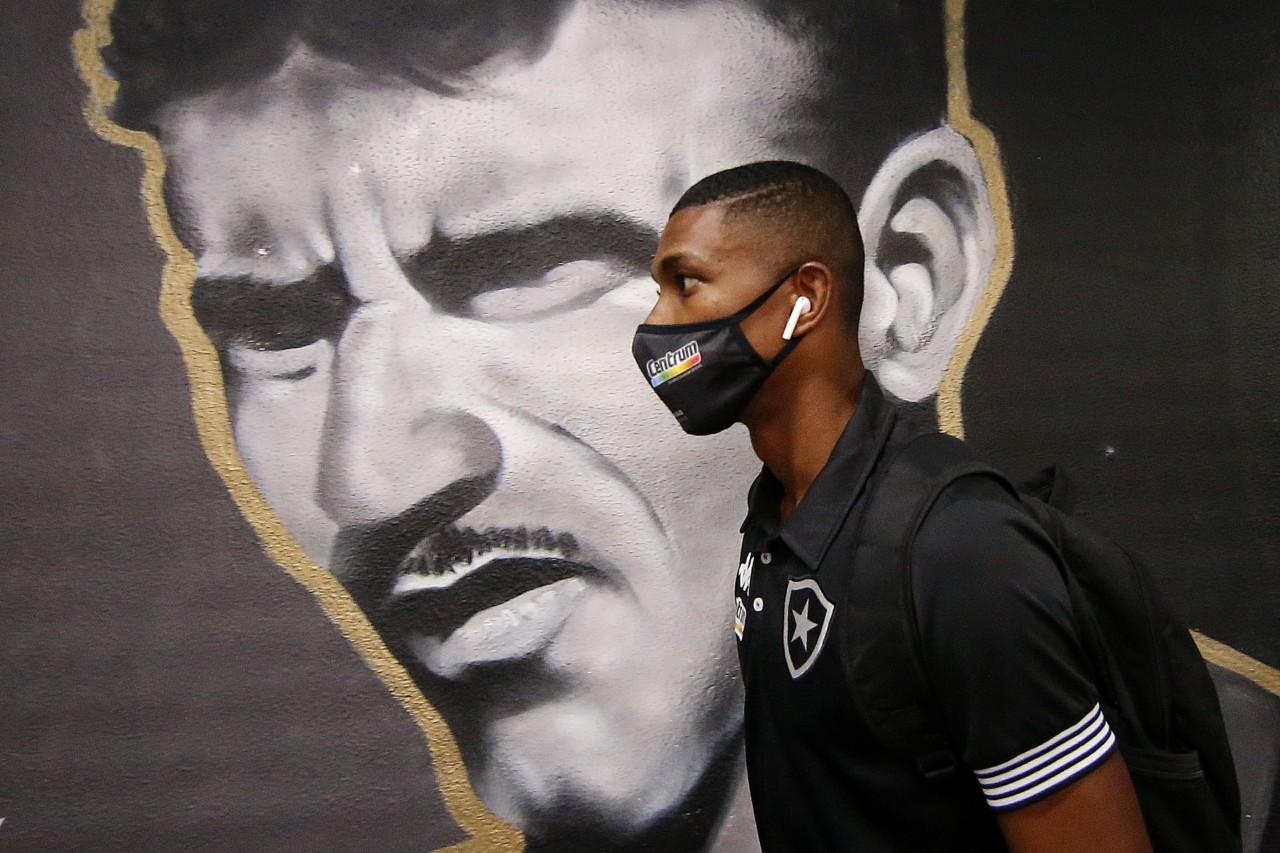 Kanu é uma das referências do Botafogo na temporada - Vitor Silva/Botafogo