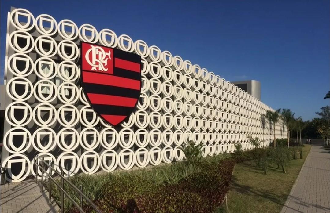 Módulo da base do Flamengo no Ninho do Urubu - Divulgação