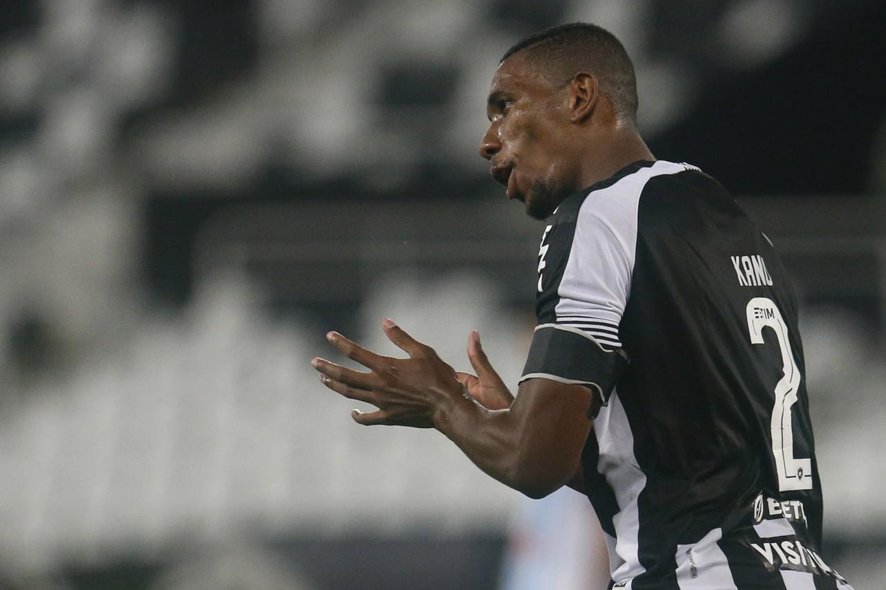 Kanu é o líder do Botafogo nesta temporada - Vitor Silva/Botafogo