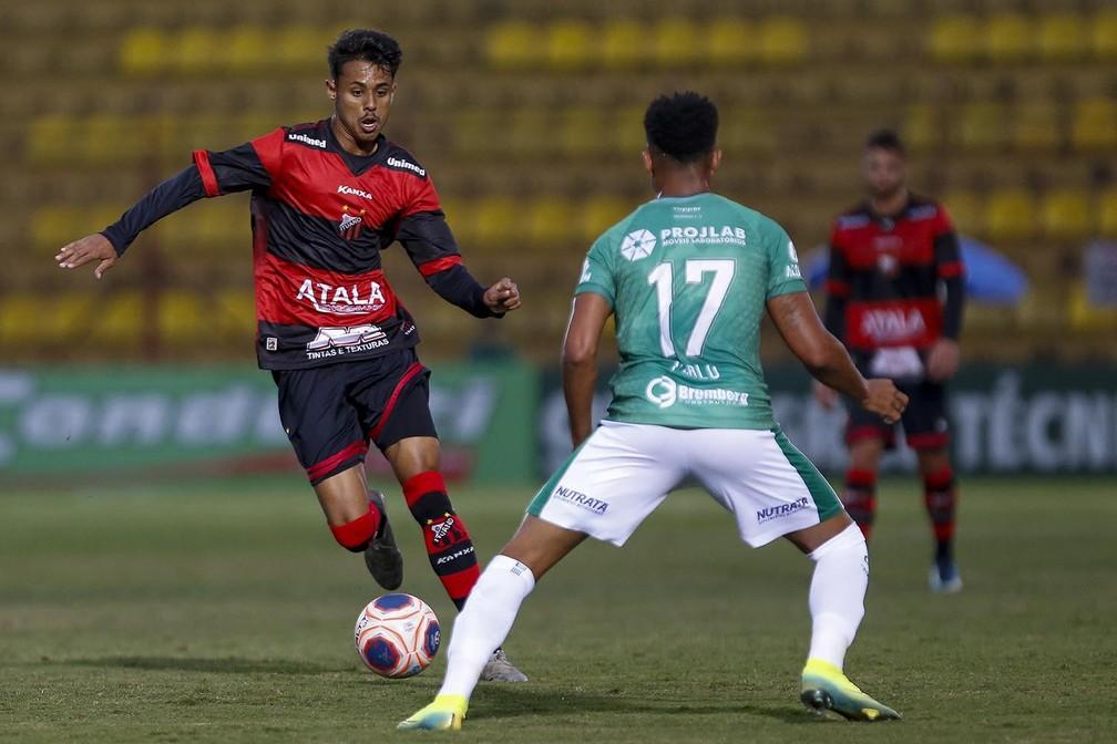 Gabriel Barros atuava no profissional do Ituano antes de ser contratado pelo Flamengo - Miguel Schincariol / Ituano