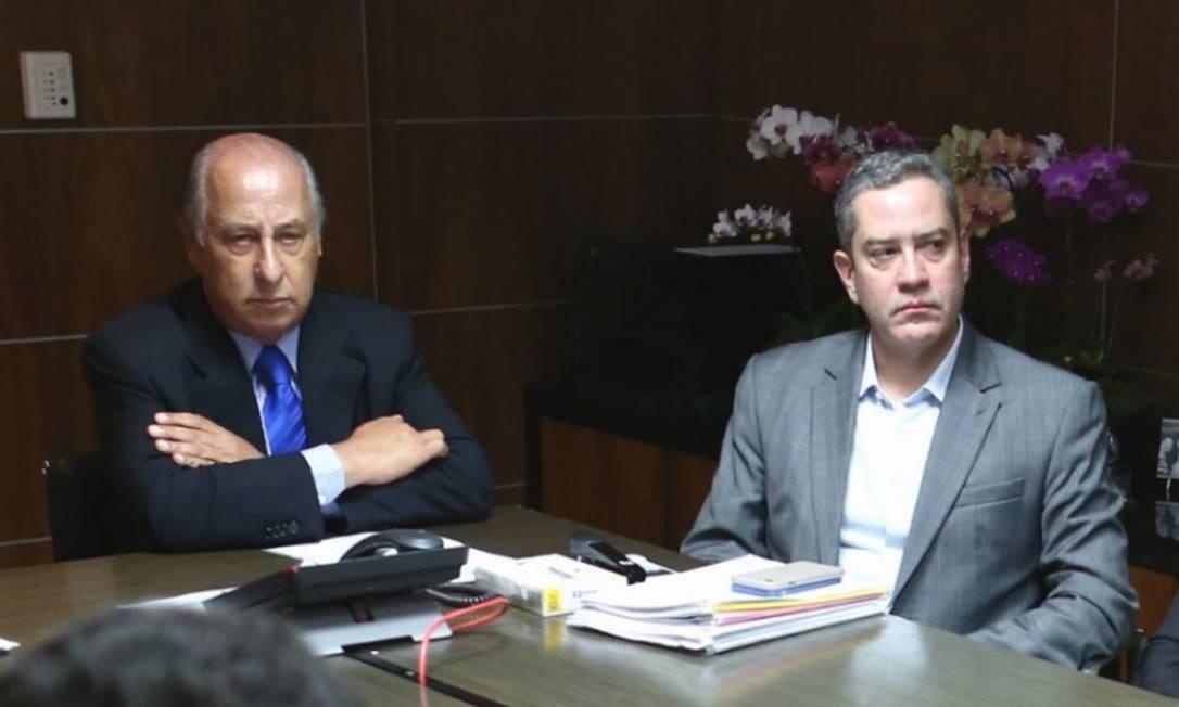 Banido do futebol pela Fifa, Del Nero foi procurado por Caboclo antes de a crise vir a público - Lucas Figueiredo/CBF
