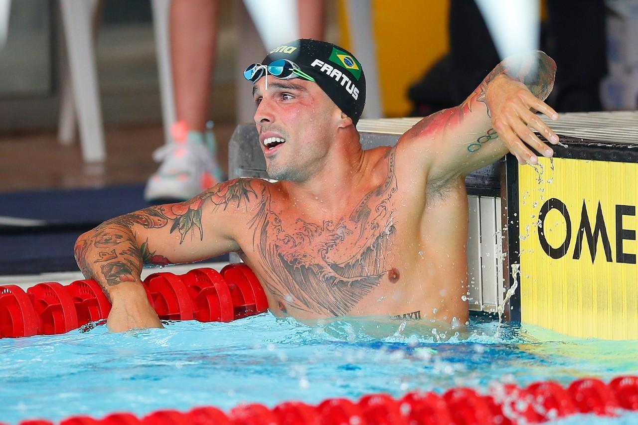 Bruno Fratus, a principal estrela da natação brasileira - Eric Alonso/Getty Images