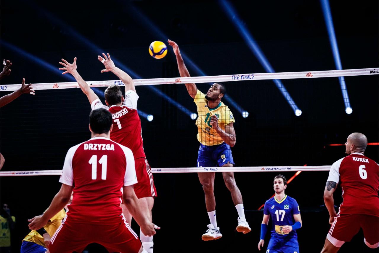 Brasil venceu a Polônia na final da Liga das Nações - Divulgação