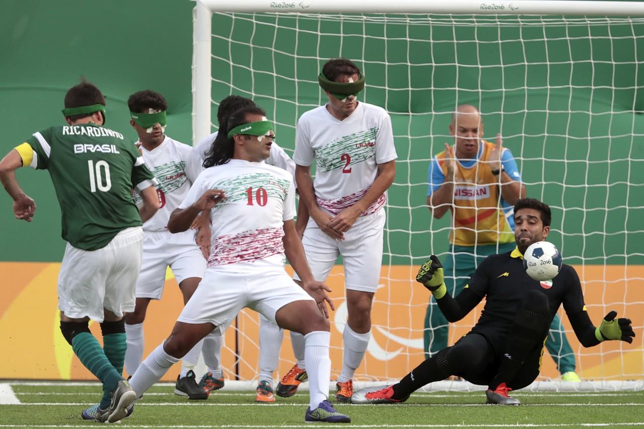 Brasil venceu o Irã na final da Paralimpíada do Rio - Alexandre Loureiro/Getty Images