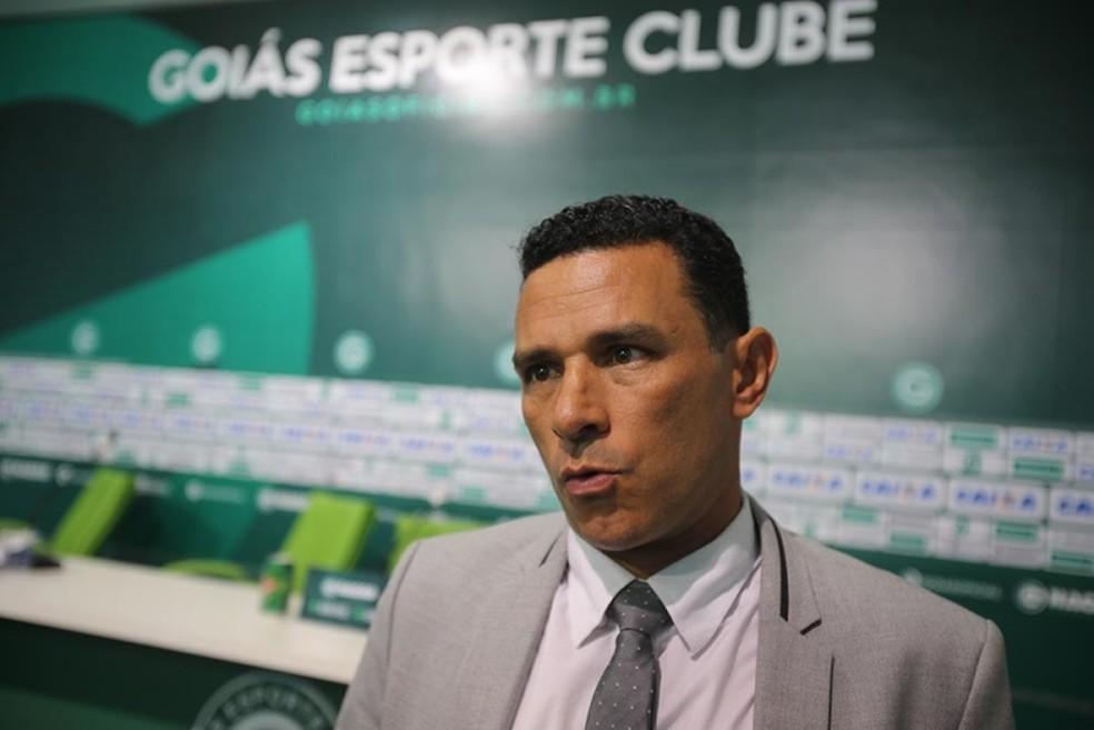 Túlio Lustosa foi promovido por Hélio ao time principal do Goiás e chegou a ser executivo do clube -  Zuhair Mohamad / O Popular
