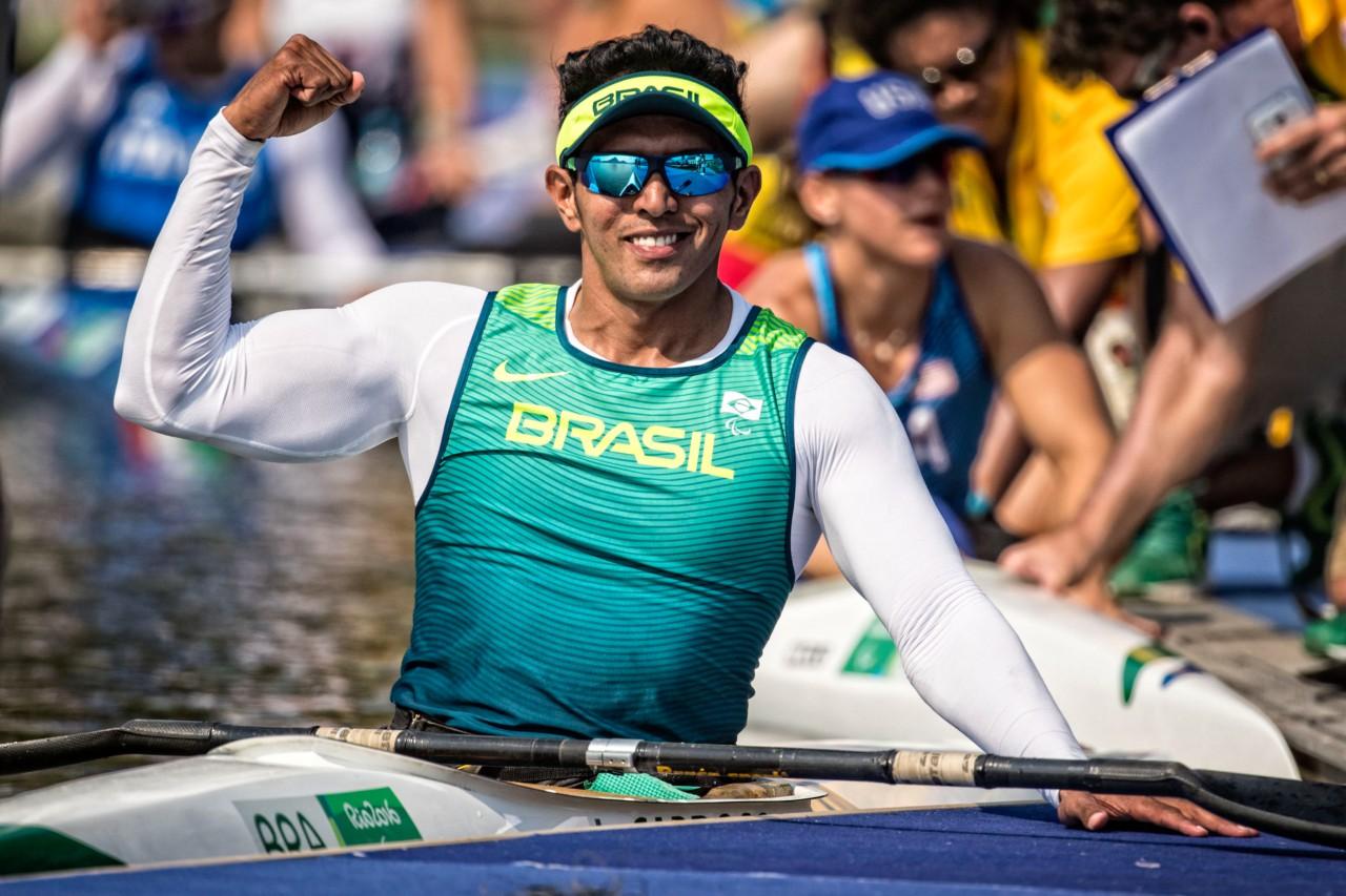 Luis Carlos Cardoso busca a sua primeira medalha nas Paralimpíadas - Marcio Rodrigues/MPIX/CPB