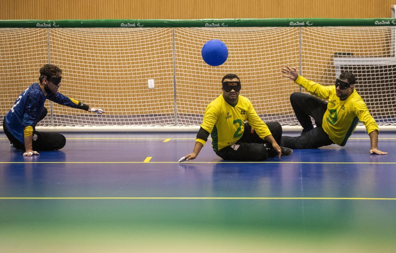 Goalball pode garantir mais uma medalha ao Brasil - Ale Cabral/CPB
