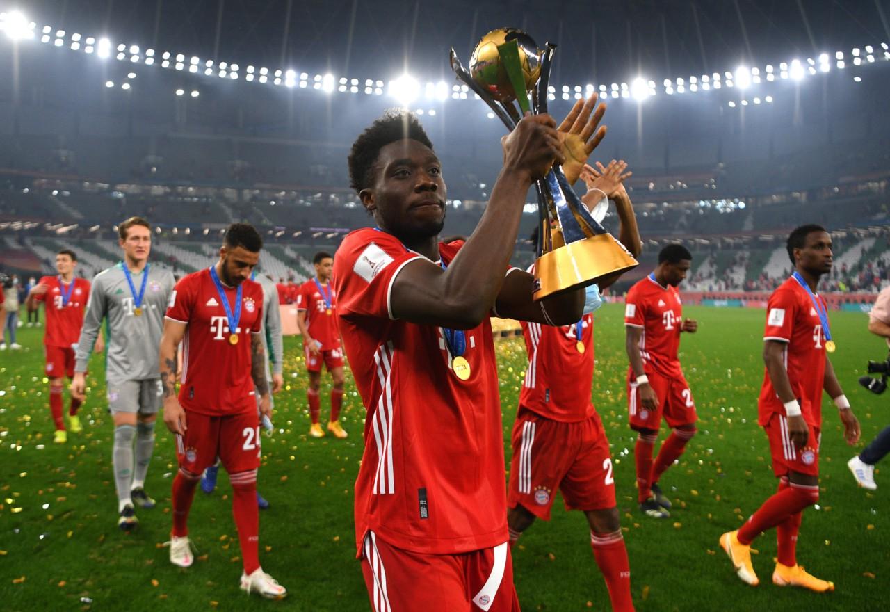 Filho de refugiados, Alphonso Davies foi campeão do Mundial de Clubes de 2020 - Getty Images