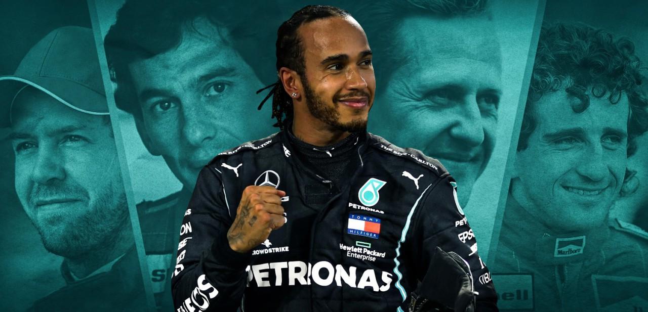 Lewis Hamilton 100 vitórias