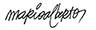 assinatura do ilustrador Mario Alberto