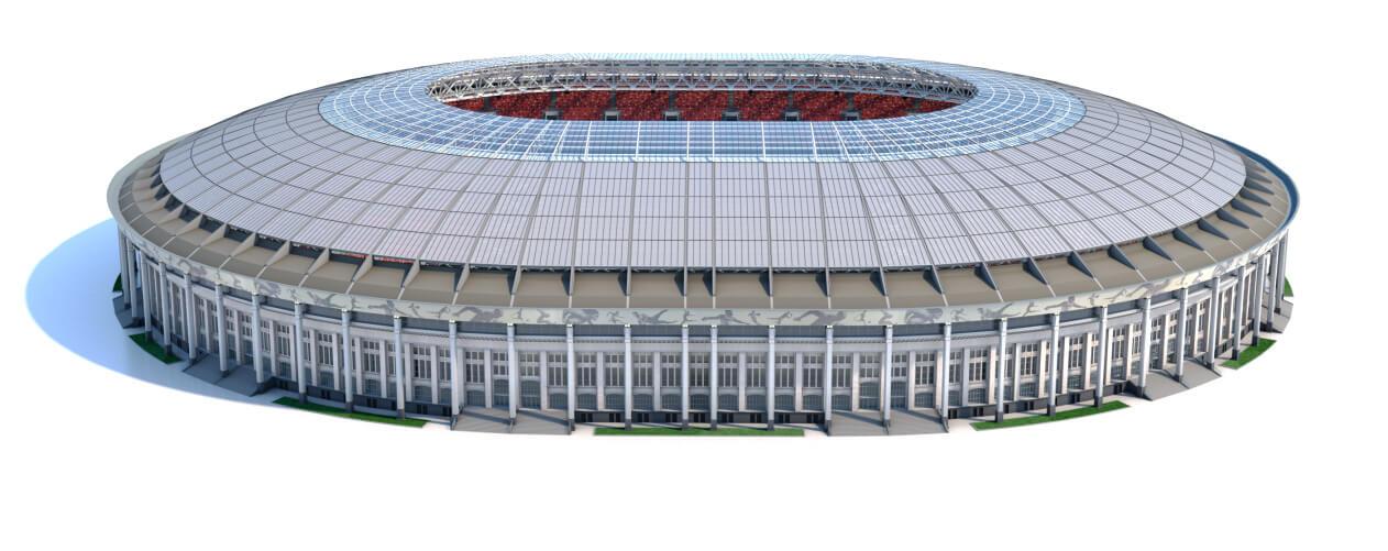Imagem em 360 graus do estádio