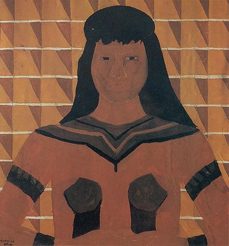 Estudo para Índia Canela do Maranhão [Study for Indigenous Canela Woman from Maranhão]