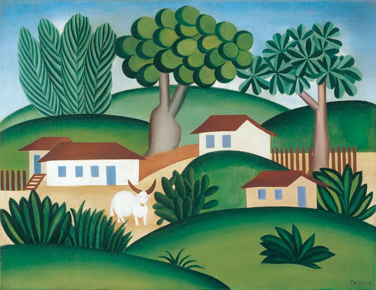 O touro (paisagem com touro) / The Bull (Landscape with Bull)