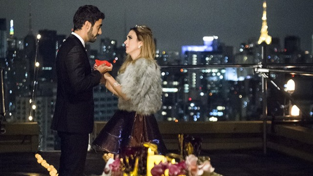 Leozinho pede Fedora em casamento