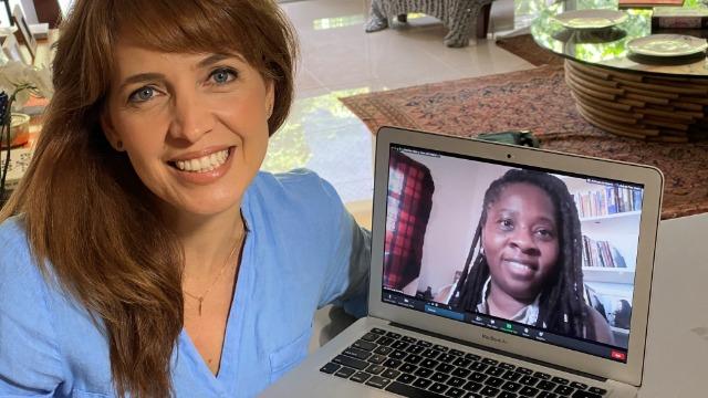 Poliana Abritta entrevista a médica Andreia Beatriz Silva dos Santos em episódio em homenagem ao Dia da Consciência Negra