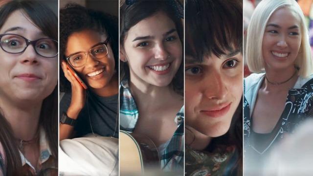 Acompanhe os destinos de Tina, Lica, Benê, Ellen e Keyla